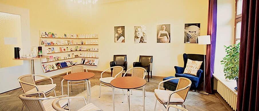 Frauenarzt, München, Frauenärztin Wartezimmer